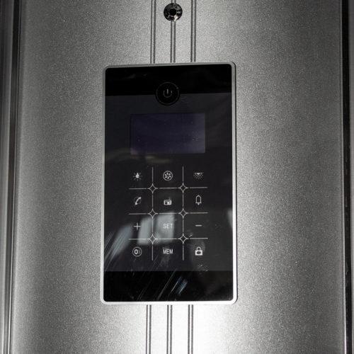 Dusckabin modell Q100 med display