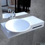 Tvättställ Bogø, Rock Solid