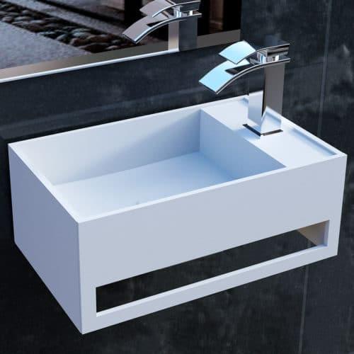 Tvättställ modell Tunø, Rock Solid