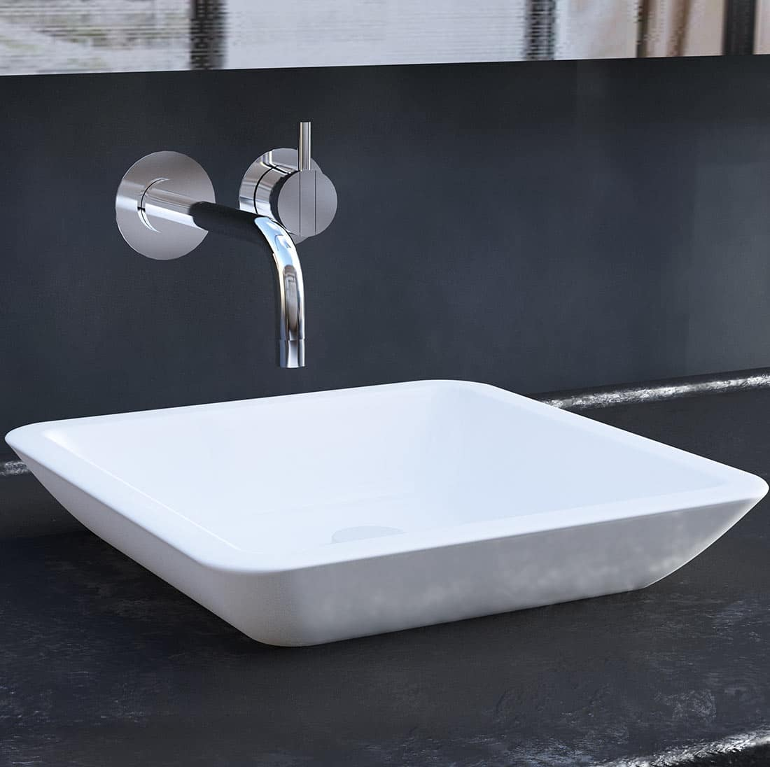 Tvättställ Vitora, Rock Solid