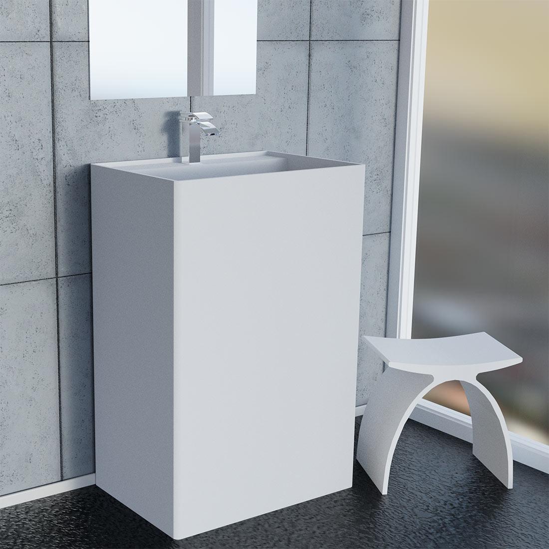 Piedestal tvättställ Drejø