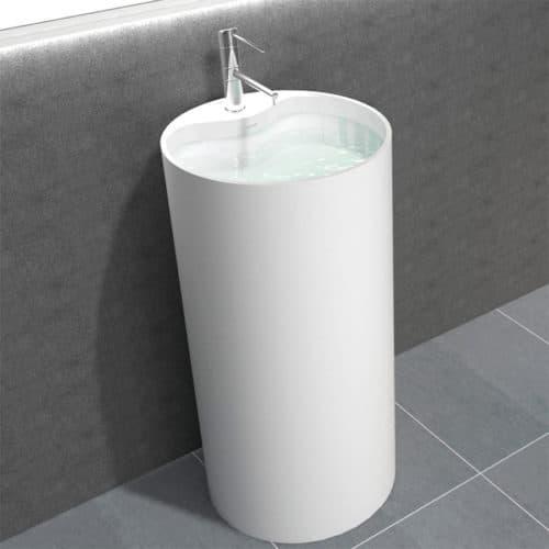 Piedestal tvättställ Fanø