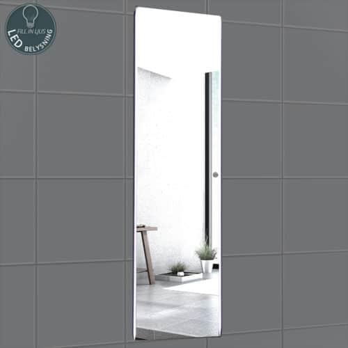 Dreamlike vertikal spegel med LED-belysning
