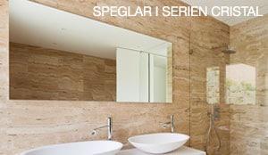 Speglar modell Cristal