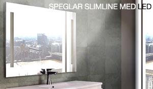 Speglar Slimline med LED