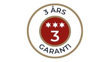 VI GER 3 ÅRS GARANTI