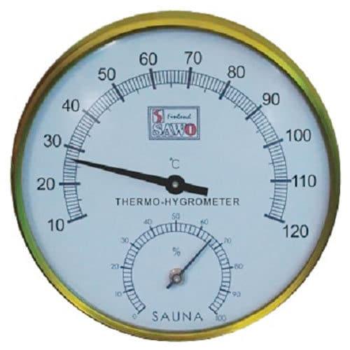 hygrometer och termometer
