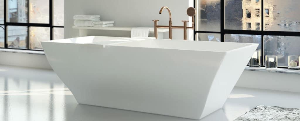 Väldesignade badkar.