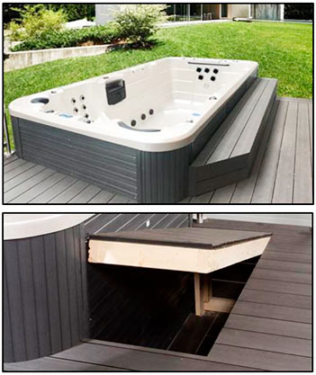 Installation av swimspa