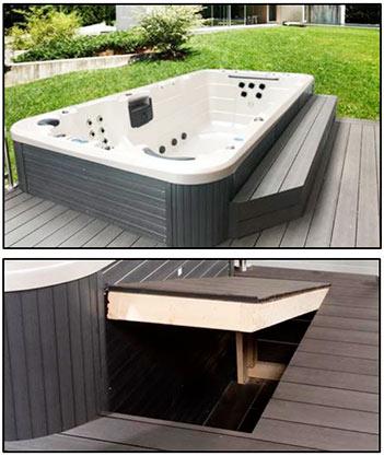 Installation av swimspa