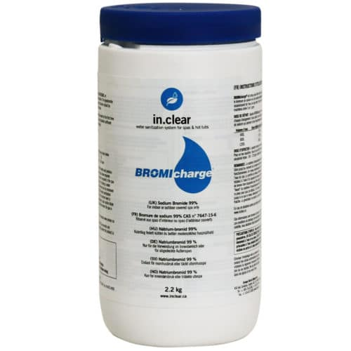 BromiCharge till in.clear™ 2,2 kg