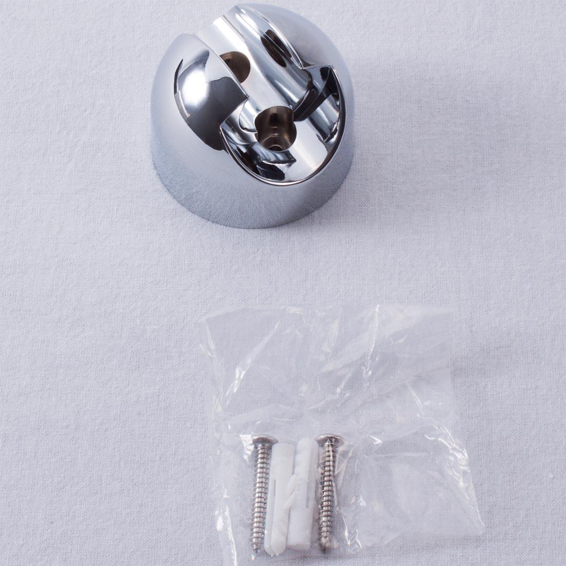 Handduschhållare i kromad stål