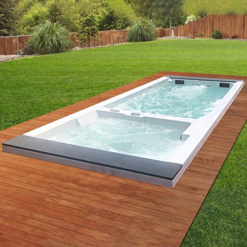 elegant dubbel pool